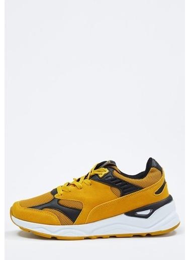 Defacto –Fit Bağcıklı Spor Ayakkabı Sarı